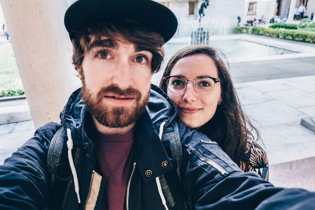 Audrey et Mickael du blog Refuse to Hibernate au Canada