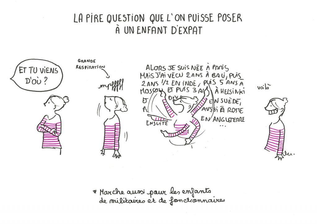 Clémentine Latron Illustratrice - Courrier Expat